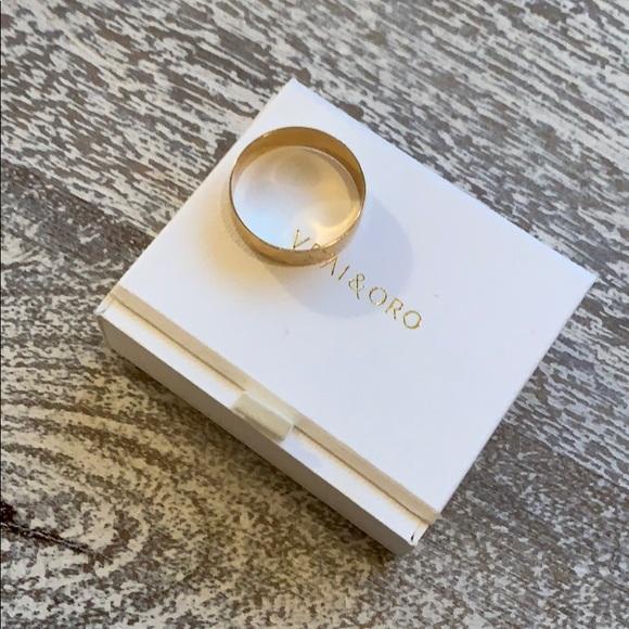 d5c194f9800 Vrai & Oro Jewelry | Vrai Oro Thick Stacking Ring Sz 7 | Poshmark